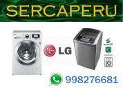 """.servicio tecnico. lavadoras lg """"olivos"""" sercaperu"""