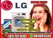 Servicio técnico lavadoras lg en el agustino