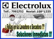 Reparación de secadoras electrolux en san borja