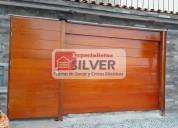 Sistema resortes para puertas levadizas seccionale