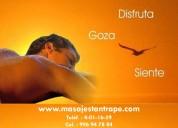 Masaje de hombre a hombre en  lima perú