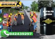 Venta de asfalto liquido rc-250 (curado rapido)