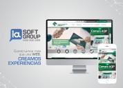 Páginas web móviles profesionales