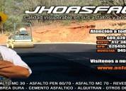 Venta de asfalto rc-250, asfalto liquido mc-30, en