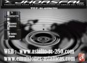 Venta de emulsion asfaltia rc-250 estable.