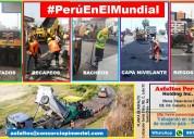 Precio x m2 asfalto en caliente imprimaciones 2018