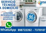 servicio tecnico de secadoras general electric