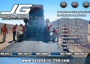 Gran venta de emulsion asfaltica  y  asfalto puro.