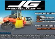 Jg asfaltos eirl venta y servicio membrana.