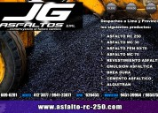 Fabricamos breas/asfaltos de Óptima calidad.