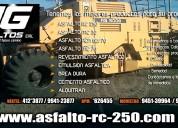 Jg asfaltos eirl venta de pintura trafico -sellado