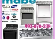 Reparaciones de cocinas a gas y electricas