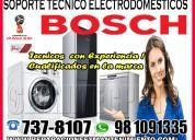 Reparaciones de secadoras bosch  981091335