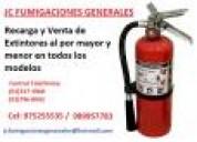 Venta de extintores recarga instalacion  7968942