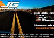 asfalto rc-70/asfalto rc-250/asfalto pen 60/70 jg.