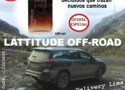 Lattitude off-road la fragancia que abre caminos
