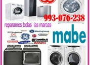 Reparaciones de secadoras y mantenimientos 993-076