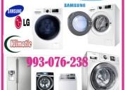 Servicio de reparaciones y pintura de lavadoras