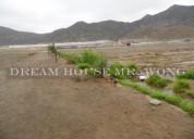 Venta de terreno en rio seco