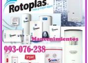 Reparaciones de termotanques y mantenimientos