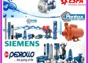Mantenimiento de bombas de agua hidrostal