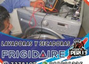 On time!! lavadoras frigidaire  reparación y matto