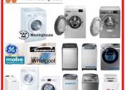 Westinghouse reparaciones de lavadoras