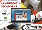 """Soporte tecnico de lavadoras """"klimatic"""" 7378107."""