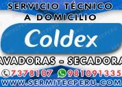 Técnicos especializados  secadoras coldex 7378107.