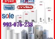Servicio de reparaciones de termotanques a gas