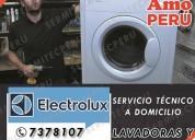 Exclusivos!!!  técnico de lavadoras electrolux