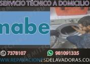 981091335 técnicos de lavadoras mabe