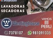 981091335// servicio técnico de lavadoras white we