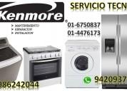 Servicio tecnico lavadoras  kenmore 6750837