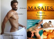 Masajes tantricos sensitivos por hombres para homb