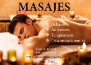 Masajes de hombre a hombre tantrico & relajante