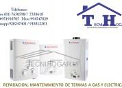 Servicio técnico de termas aquamaxx a domicilio 76