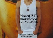 Diego masajista masculino en lima