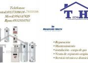tecnicos a domicilio termotanques bradford white