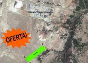 Terreno 10.5 has - espaldas de cementos pacasmayo
