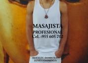 Diego masajista masculino en lima a caballleros