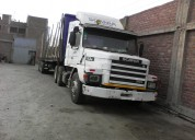 Semitrayler scania tortoon aÑo 97