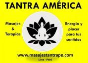 Sala de masajes por hombres para hombres en lima
