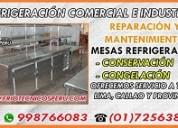 RÁpida soluciÓn tÉcnica 7256381 mesas refrigeradas