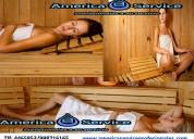 Especialistas en saunas tlf 4465853