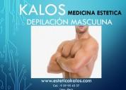 DepilaciÓn masculina en lima kalos estetic