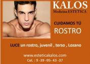Kalos medicina estetica for men cuidado facial