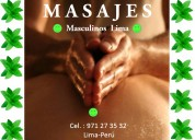 Alexander masajista profesional 24 horas en lima
