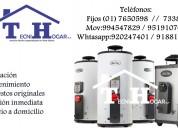 Tecnicos a1 servicio tecnico termas calorex brad f