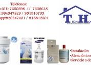 Venta de filtros internos y externos de refrigerad